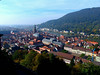 View of Old Heidelberg from the Castle