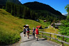 A Hiking we will Go near Murren, Switzerland