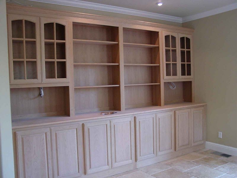 Unfinished Cherry Hutch/Buffet 12'wide X 8'tall-