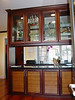 African Mahogany and Plyboo Room Devider