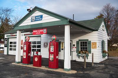 Texaco Gas Station in Dwight, Illinois