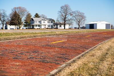 Original Historic Route 66 Brick Road