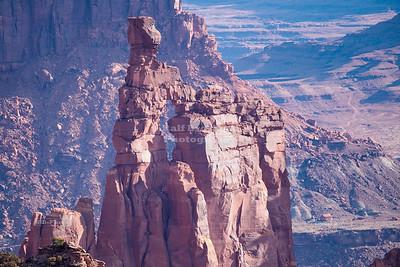 Washerwoman Arch in Buck Canyon, Canyonlands National Park, Utah