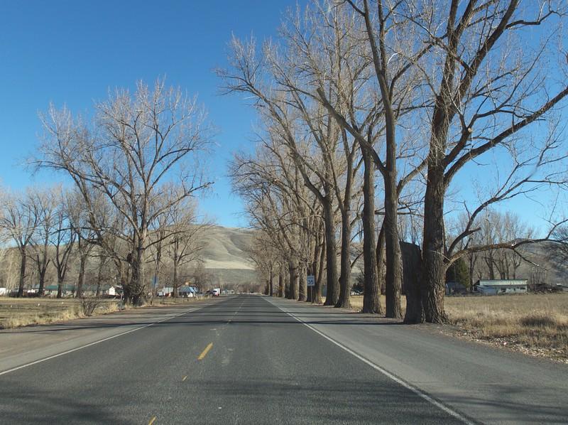 Passing through the tiny town of Juntura, Oregon.