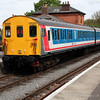 DEMU 205205 1450/2c12 North Weald-Ongar service   26/04/14.