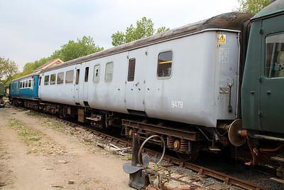 MK2 9479 in Ongar Station Yard   19/05/13.