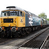 47635 'Jimmy Milne' & D6729 (37029) D/H 1400/2C10 North Weald-Ongar  26/04/14.
