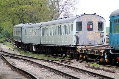 2 car DEMU Class 205 No 205205 s60110_s60180 in North Weald Sidings    19/05/13