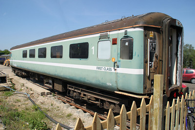 1214 MK2 RFB at Epping and Ongar Railway 27/05/12