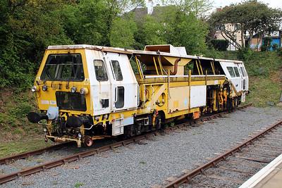 Tamper DR73241 seen at Ongar Station   19/05/13.
