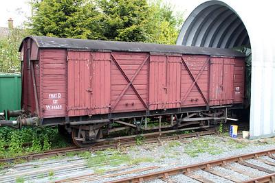 GWR PMV W34659 at Ongar Station   19/05/13.