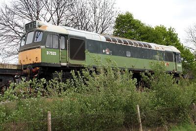 Class 25 D7523 (25173) in the sidings   26/04/14.