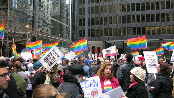 Equal Marriage Rights March - No on 8 - Chicago