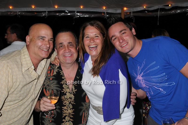 Vincent Manzo, Vincent Minuto, Lorraine Bracco, Tobias Mendel<br /> photo by Rob Rich © 2008 516-676-3939 robwayne1@aol.com