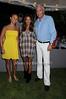 Georgina Bloomberg, Kelly Klein, Scott Evans<br /> photo by Rob Rich © 2008 516-676-3939 robwayne1@aol.com