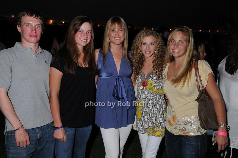 Scott Pearson, Greer Hindle, Paulina Johnson, Paige Bellissimo, Sara Green<br /> photo by Rob Rich © 2008 516-676-3939 robwayne1@aol.com