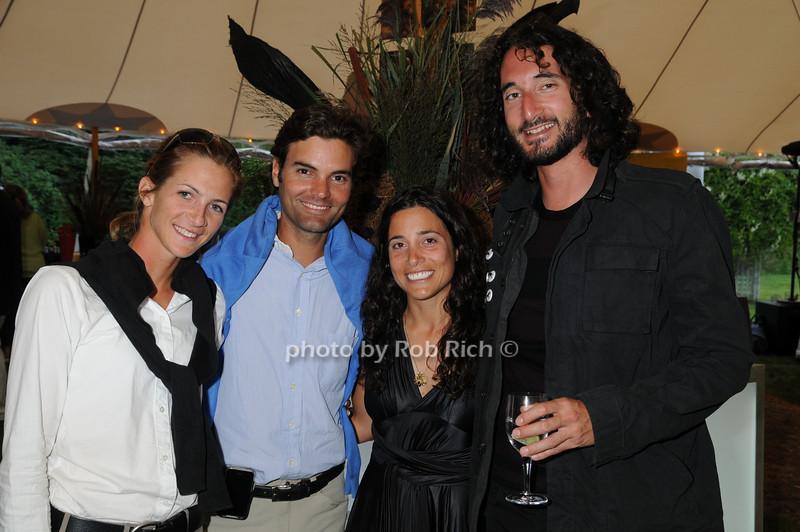 Maria Schaub, Ramiro Quintana, Alexandra Cherubini, David Attala<br /> photo by Rob Rich © 2008 516-676-3939 robwayne1@aol.com
