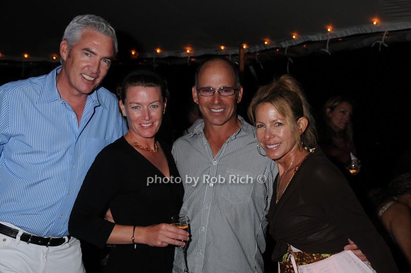 Scott Evans, Gretchen Topping, Herb Sambol, Suzy Drasnin<br /> photo by Rob Rich © 2008 516-676-3939 robwayne1@aol.com