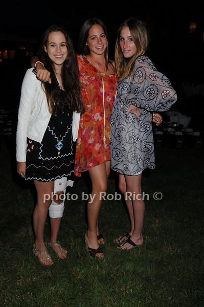 Chloe Goutal, Clementine Goutal, Alexis Stein<br /> photo by Rob Rich © 2008 516-676-3939 robwayne1@aol.com