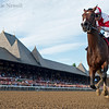 Songbird wins the Coaching Club American Oaks