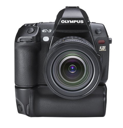 Olympus Evolt E-3 10.1MP Digital SLR Camera with Mechanical Image Stabilization (Body Only) $300