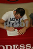 Eric Jackson Signs with Westminster College 5-1-08 :