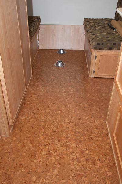 new cork flooring