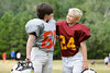 CO8.1 / two boys 6-10 years old who are friends, no fishing photos<br /> <br /> Choice 6 of 18<br /> <br /> Sportsmanship After the Game --- Image by © Kevin Dodge/Corbis
