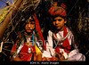 TA10.10a / Asian Indian Adolescents in marriage ceremony<br /> <br /> Choice 5 of 11<br /> <br /> B0HK3C The bride and groom at a child wedding, Rajasthan, India.