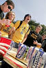 TA11.6 / The pick-up from Topical is not available because the photographer is on the do not use list<br /> <br /> Choice 4 of 16<br /> <br /> Students from the University of Iowa and Iowa State University drink alcohol and party while tailgating before the annual match up between the two football teams.