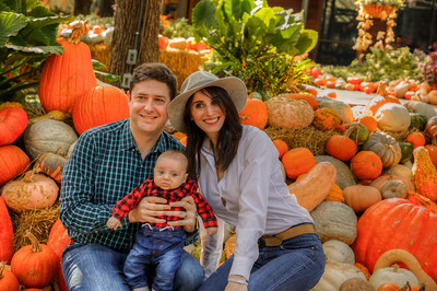 Ethan at the Pumpkin Patch