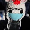 "Castle Crashers Bear Shaman Hat<br /> <br />  <a href=""http://crazystars.etsy.com"">http://crazystars.etsy.com</a>"