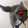 "Castle Crashers Necromancer Hat<br /> <br />  <a href=""http://crazystars.etsy.com"">http://crazystars.etsy.com</a>"