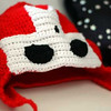 """Castle Crashers Knight Hat<br /> <br />  <a href=""""http://crazystars.etsy.com"""">http://crazystars.etsy.com</a>"""