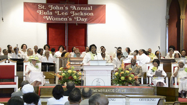 Eula Lee Jackson Women Day Program