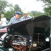 Dad and Dave with a MG TB...carried a tool kit and extra spark plugs