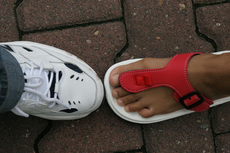left foots