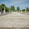 Street from the former Port of Ephesus, Turkey