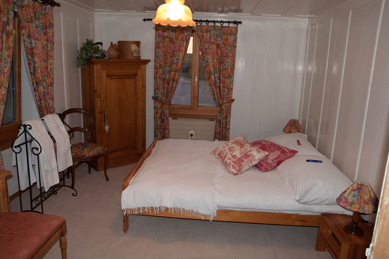 Our room.  The girls have twin beds in the room next door.