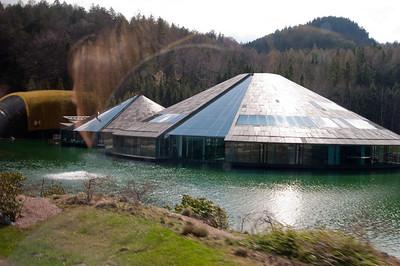 Red Bull headquarters near Mondsee Austria.
