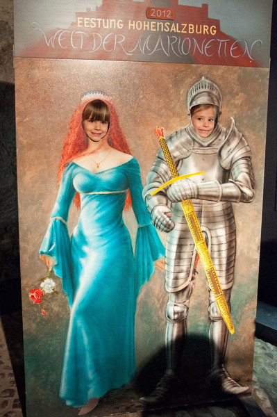 Charlotte the princess and Elisabeth the knight.