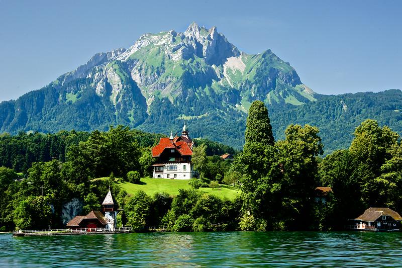Lake Lucerne Villa.