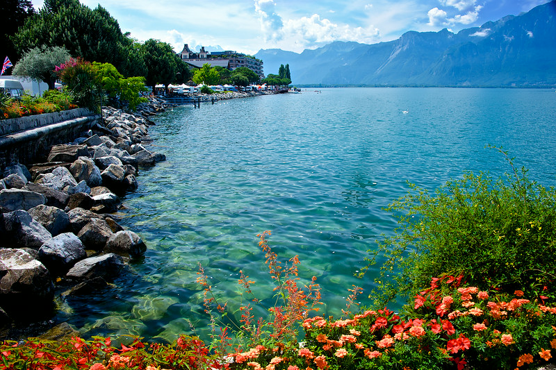 Beautiful Lake Lucerne.