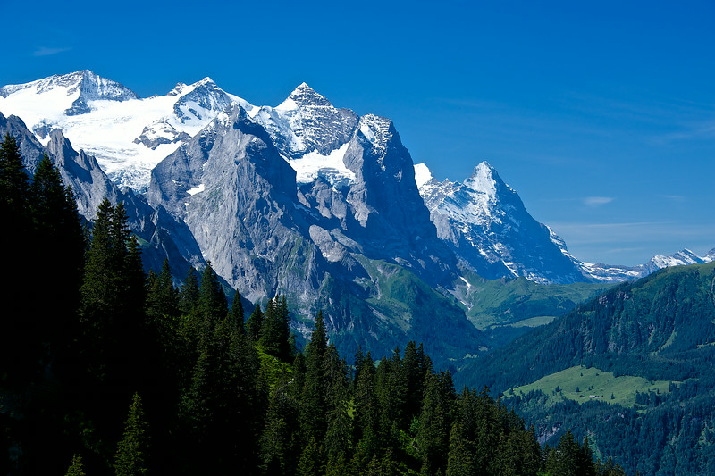 Majestic Swiss Alps.