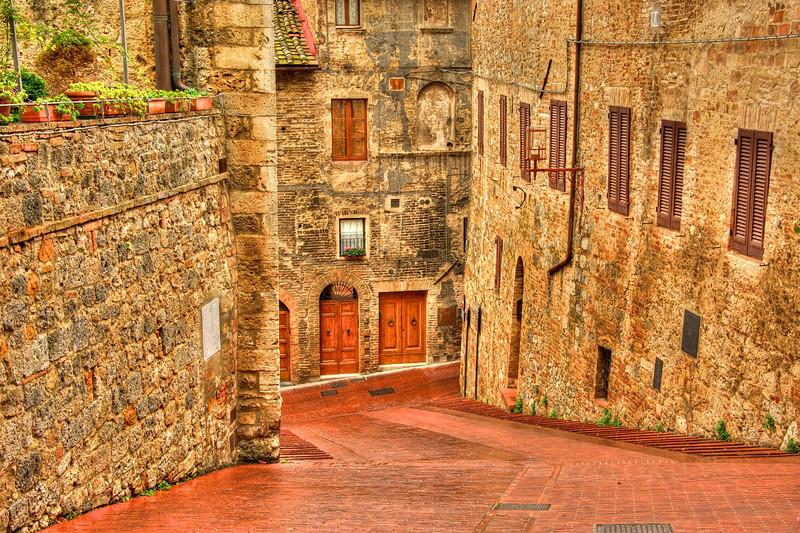 San Gimgnano, Italy