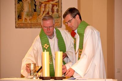 Fr. John van den Hengel and Fr. Heiner Wilmer