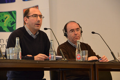 Fr. Artur Sanecki presents the report of his small group.