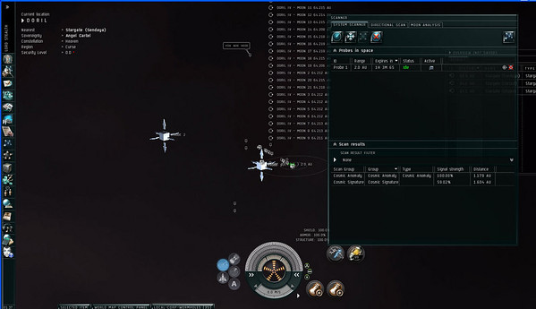 eve test scanning