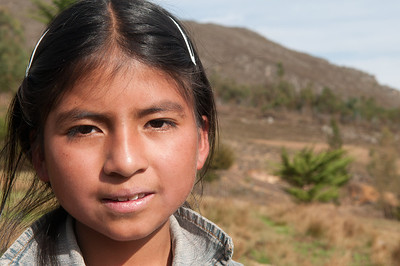 Cajamarca, El Tambo community, Evelyn, Peru