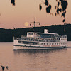 Sunset dinner cruise on the M/S Mount Washington on Lake Winnipesaukee, NH